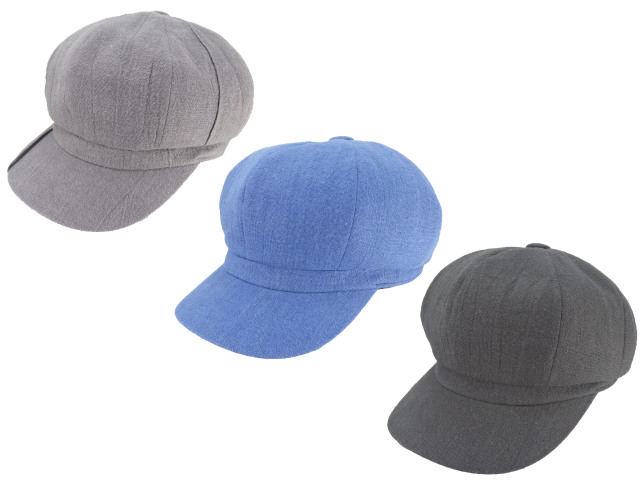 【KNOWLEDGE】Cotton linen standard casquette/made in japan