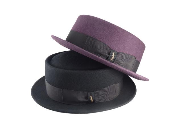 Felt Porkpie Hat/ MadeinTokyo フェルトポークパイハット
