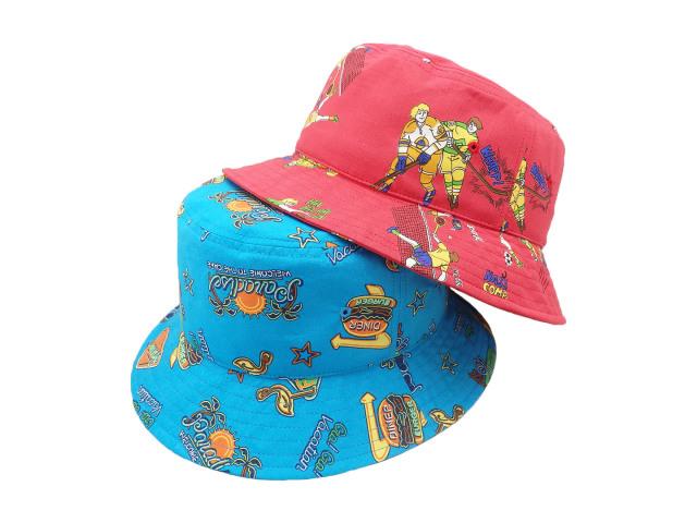 America 80's Bucket hat / MadeInTokyo