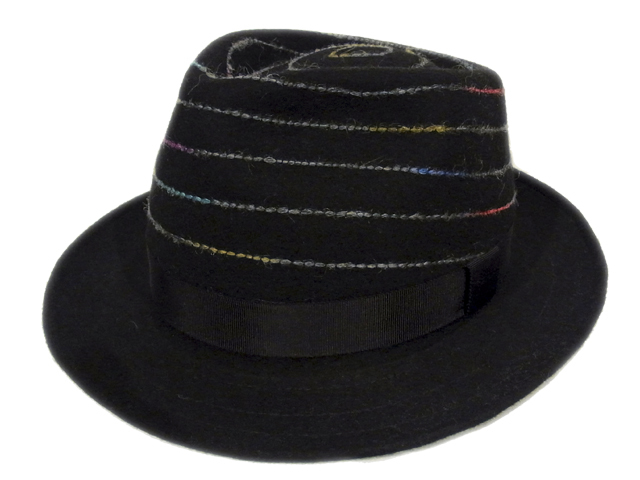 【EDHAT(エドハット)】 Rainbow Stitch Felt Hat(日本製)