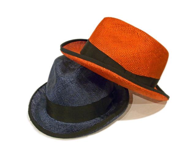 【EDHAT(エドハット)】 Sisal Homburg Hat