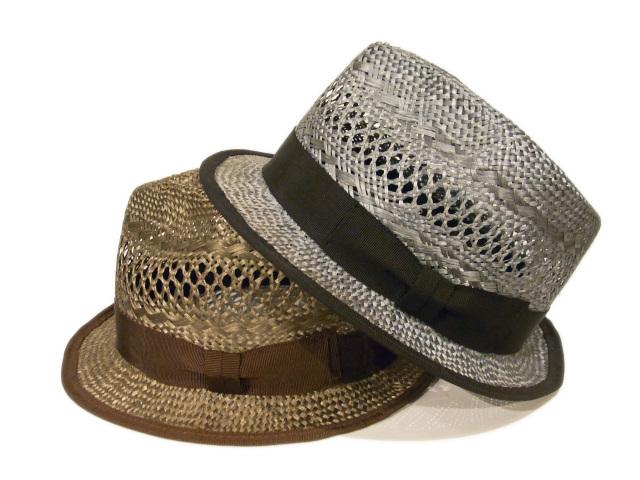 【EDHAT(エドハット)】 Ramie Short Brim Hat(日本製)
