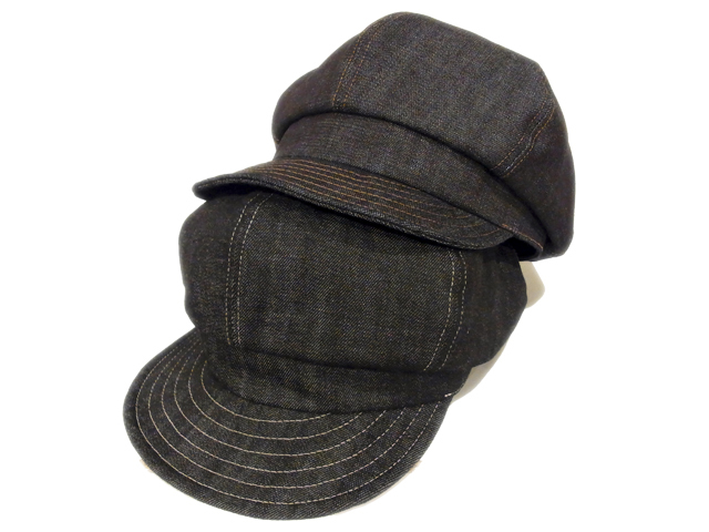 【KNOWLEDGE(ナレッジ)】 Denim Wide Casquette(日本製)