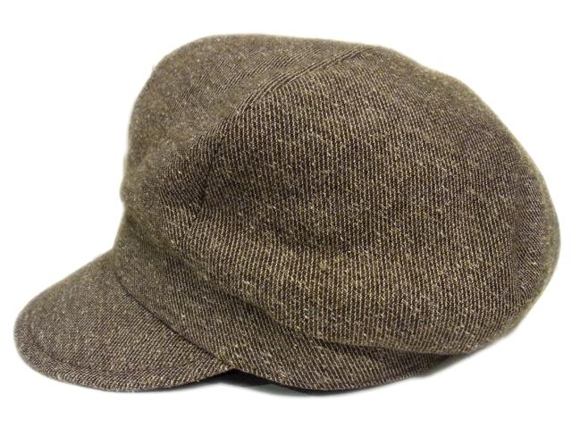 【KNOWLEDGE(ナレッジ)オリジナル】 Wool Semi Wide Cas(日本製)