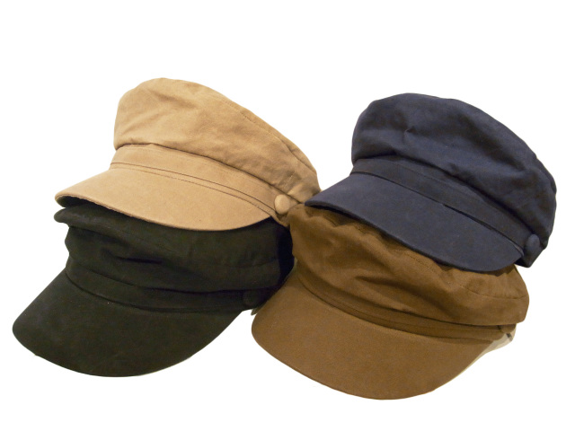 【KNOWLEDGE(ナレッジ)】 Paraffin Cloth Marine Cap(日本製)