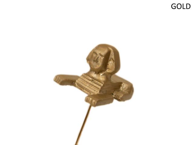 【KNOWLEDGE(ナレッジ)×BSC】 Sphynx Hat Pin(日本製) カラー:ゴールド
