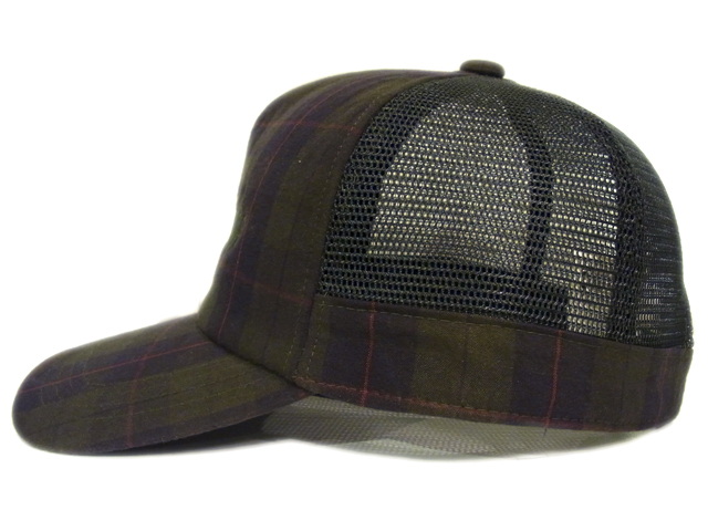 【KNOWLEDGE(ナレッジ)オリジナル】 Over Check KNOWLEDGE Mesh Cap(日本製)