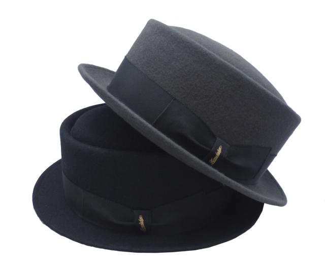 【KNOWLEDGE】FeltPorkpie HAT2018AW Made in Tokyo