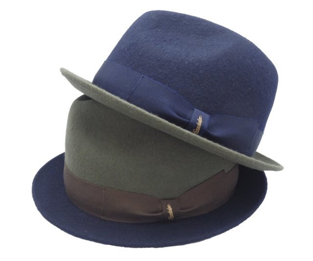 【KNOWLEDGE】    Bi-color HAT Made in Tokyo