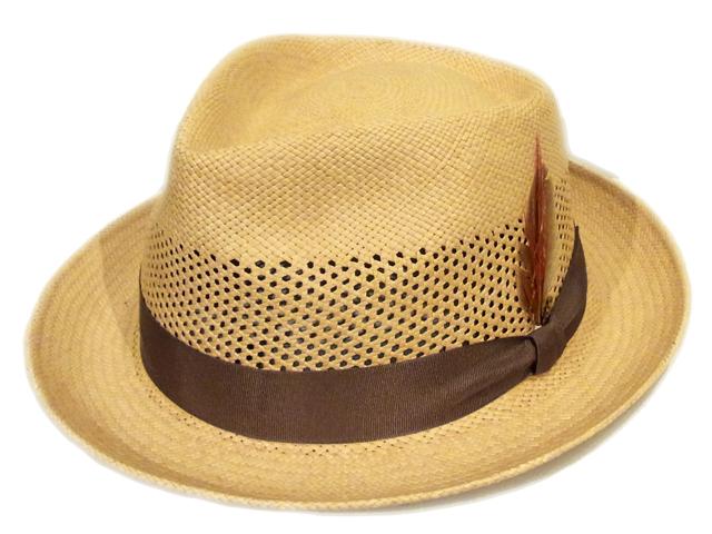 【HABIG(ハビック)】 Teardrop Panama Hat(日本製)