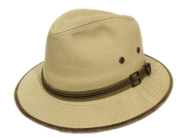 【STETSON(ステットソン)】 Fedora Safari Hat(スリランカ製)