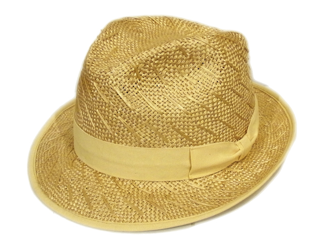 【tesi(テシ)】 Ramie Standard Hat(イタリア製)