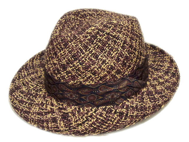 【CHRISTYS'(クリスティーズ)】 Mix Color Panama Hat(イギリス製)