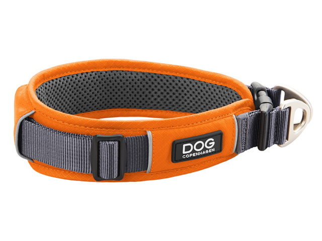 やわらかいパッドが首にやさしいデンマーク犬用首輪(ドッグカラー)|ドッグコペンハーゲン アーバンエクスプローラー|犬グッズ通販HAU
