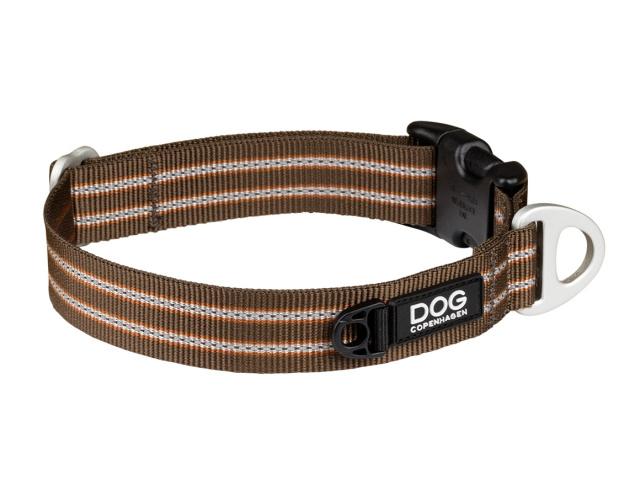 プラスチックバックル、D管、ナイロンのシンプル構造犬用首輪|ドッグコペンハーゲン アーバンスタイルカラー|犬グッズ通販HAU