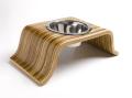 犬用食器/食べやすい高さのあるスタンドつきフードボウル|roxiedoggie|犬グッズ通販HAU