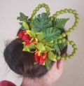 オリジナル モキハナの髪飾り