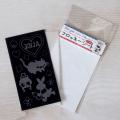 【メール便対応】【アイロンで布に転写できる】フロッキー転写シート アリス(黒)