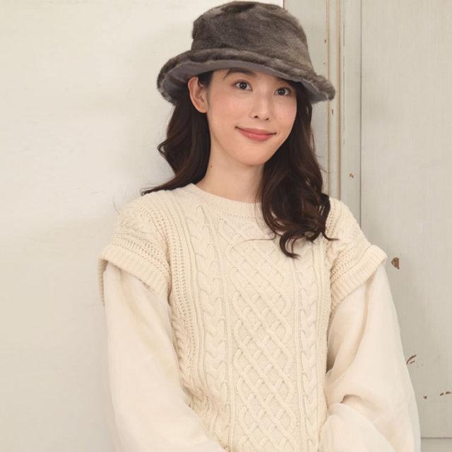 帽子 ミンク ハット