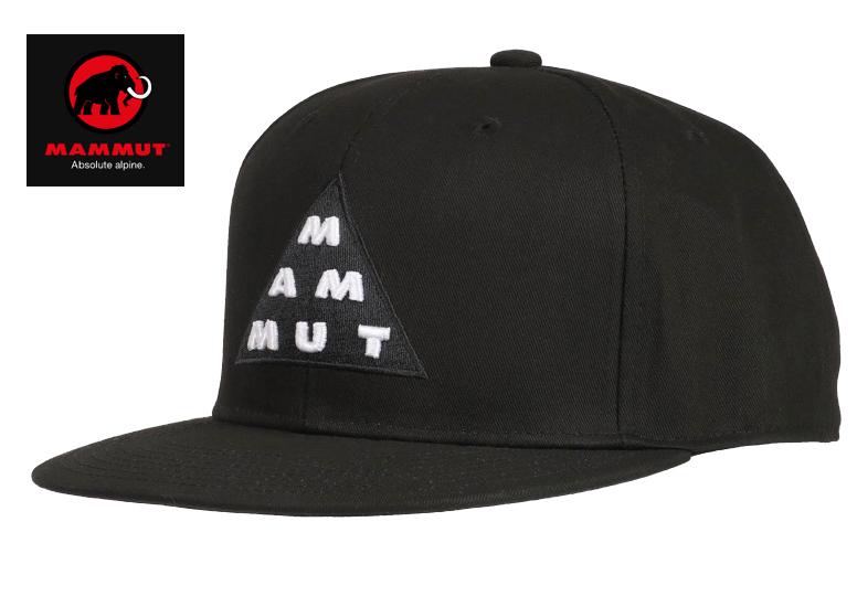 【MAMMUT/マムート】マムート トライアングル キャップ/Mammut Triangle Cap 1191-00170 三角形MAMMUTロゴのベースボールキャップ サイズ調節可能な帽子