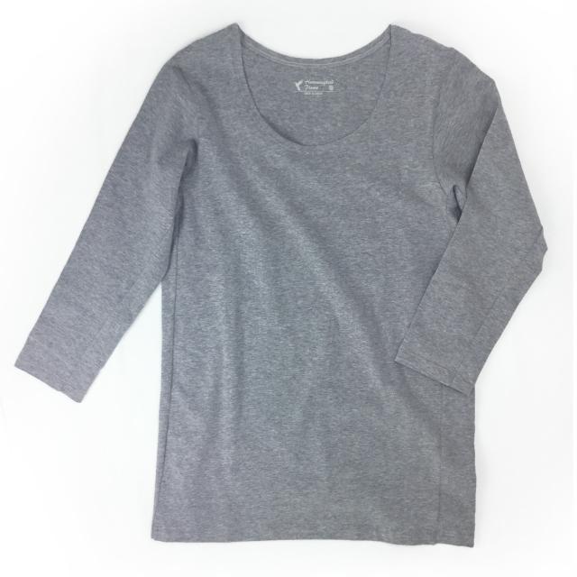 ストレッチジャージー ワイドネックアンダーシャツ[HPU2501]