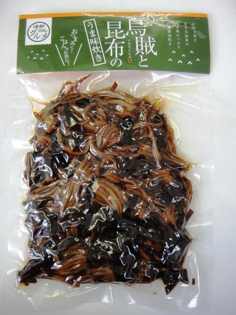 きざみ昆布のうま味★いかと昆布のうま味炊き160g