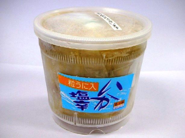 この塩辛!濃厚ウニたっぷりの贅沢なお味です!粒うに入りいか塩辛450g 数量限定商品