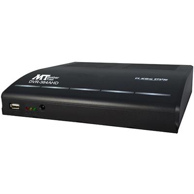 防犯カメラ・監視カメラ 防犯録画機 DVR-364AHD (2TB) AHD2.0対応 1080P対応