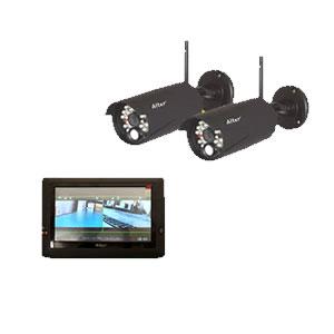 防犯カメラ ワイヤレス 屋外 2台 92万画素  ワイヤレス防犯カメラ  AT-8801 2台セット