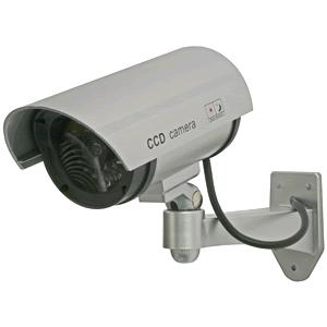 防犯カメラ ダミー 屋外タイプ LED付き 屋外設置型 ダミーカメラ DC-027IR