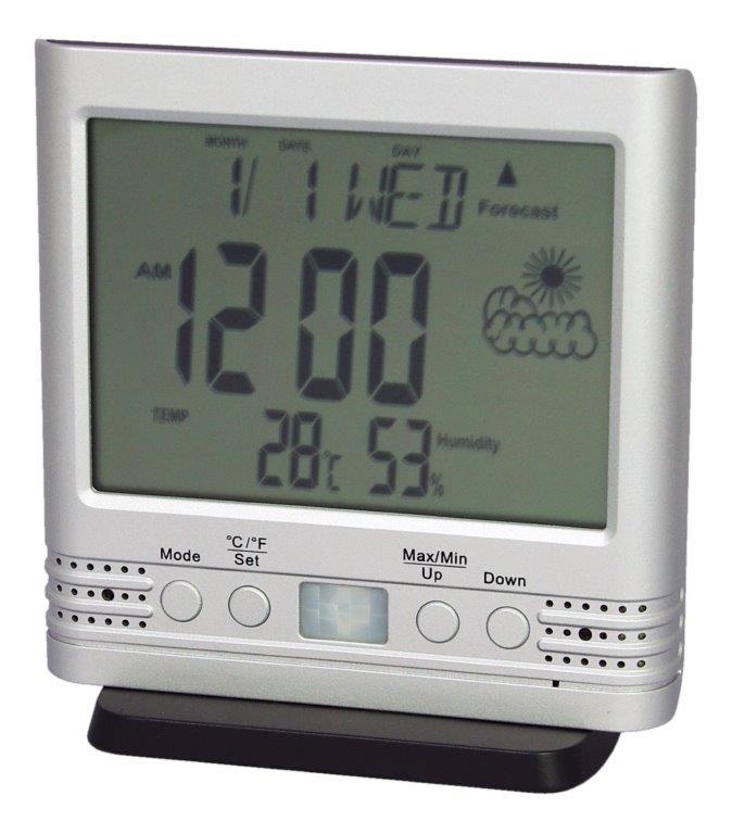 防犯カメラ 置き時計型 時計型 200万画素 SDカード録画機能付き HS-400FHD サンメカトロニクス 偽装型