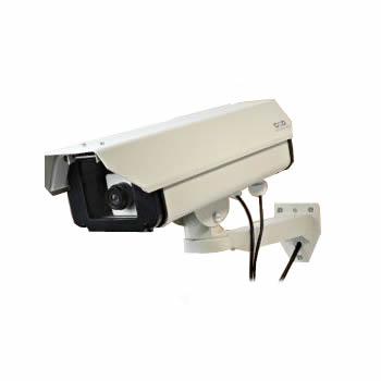ダミーカメラ 防犯カメラ ハウジング型 ロングサイズ OS-160 屋外用