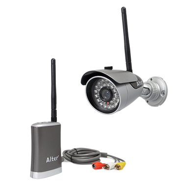 防犯カメラ ワイヤレス 屋外 デジタル無線カメラ 監視カメラ AT-6130 キャロットシステムズ