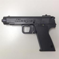ピストル型催涙スプレー ET-18 拳銃 アラーム機能搭載 誤操作防止つき