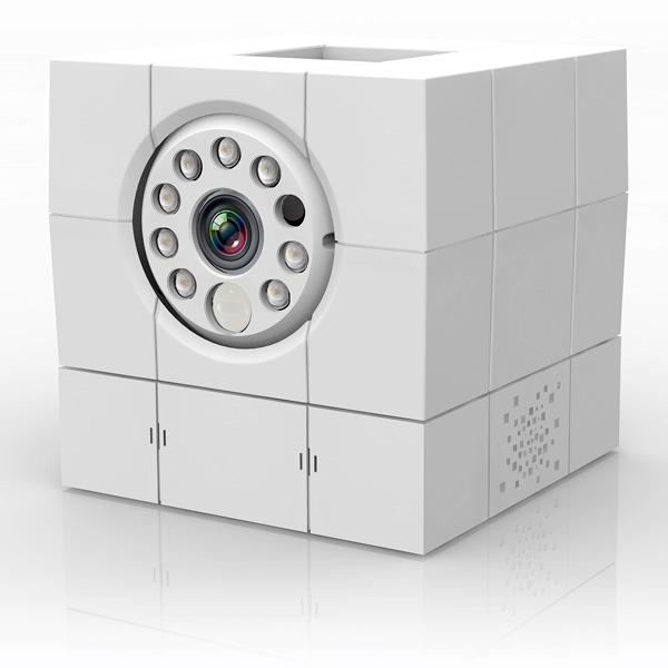 Wifi あんしんカム icam HD 360 ネットワークカメラ ACC1308A1WH SDカード録画 IPカメラ