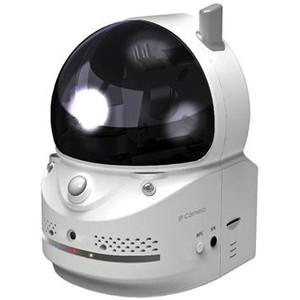 ネットワーク IPカメラ 遠隔監視 旋回対応 インターネットIPカメラ HOME-EYE2(ホームアイ2) MTC-HE02IP 【Camview対応】