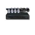 AHD 防犯カメラ・監視カメラ 4台セット+AHDハイビジョンDVR・録画機 (3TB) 100万画素  AHDスターターパック