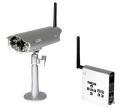 防犯カメラ ワイヤレス/無線 屋外 防雨型 防犯カメラセット AT-2400WCS