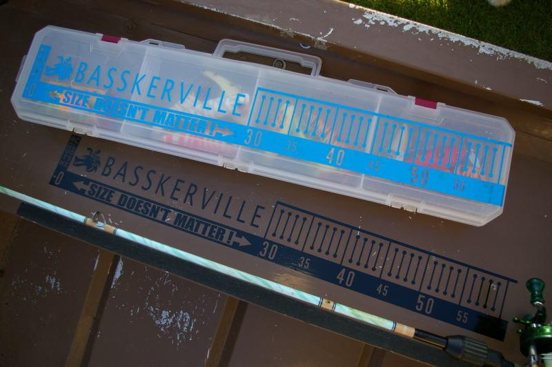 Basskerville『メジャーステッカー SDM60』