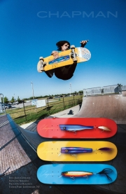CHAPMAN SKATEBOARDS 『Lure Series Skateboard Deck』