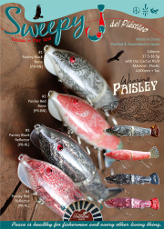 ご予約受付中!津波ルアーズ 『Sweepy J del Plastico - Wearing Paisley (スウィーピー・ジェイ・デル・プラスティコ-ペイズリー)』