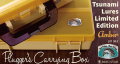 "津波ルアーズ 『 Plugger's Carrying Box Tsunami Lures Limited Edition ""Amber"" Lot No.2』"