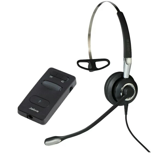 Jabra製 電話機用 有線ヘッドセットパック Jabra BIZ 2400 II PACK(2402-860)