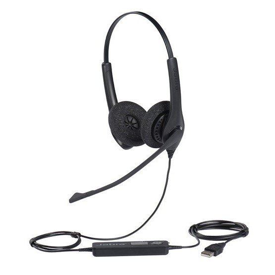 Jabra製 USBヘッドセット Jabra Biz 1500 Duo(1559-0159)