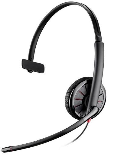 Plantronics(プラントロニクス) Blackwire C315.1-M USB + 3.5mm4極 ヘッドセット(204440-01)