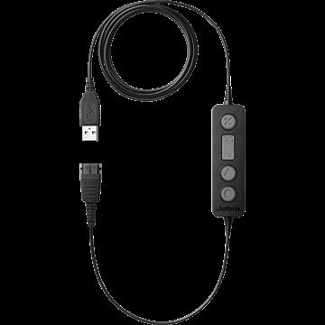 Jabra製ヘッドセット用接続コード「Jabra LINK 260 USB」USB接続変換アダプター 260-09