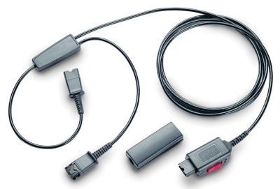 プラントロニクスヘッドセット(Yケーブル モニター用コード  27019-03)