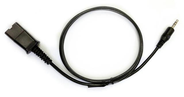 プラントロニクス アクセサリ φ3.5変換ケーブル(携帯電話・PHS用) 40288-01