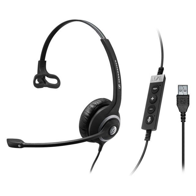 SENNHEISER(ゼンハイザー) SC 230 USB CTRL II / 506480 USBヘッドセット(片耳)(USB一体型) USB接続ケーブル