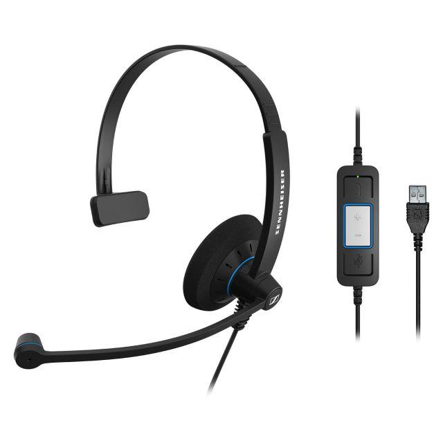 SENNHEISER(ゼンハイザー) SC 30 USB CTRL / 504548 USBヘッドセット(片耳)(USB一体型) USB接続ケーブル